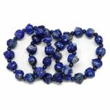 Bratara Lapis lazuli Diametru 52 mm, Animal - 15 x 10 mm